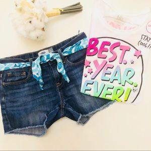 Girls bundle: shorts and tee 12/14